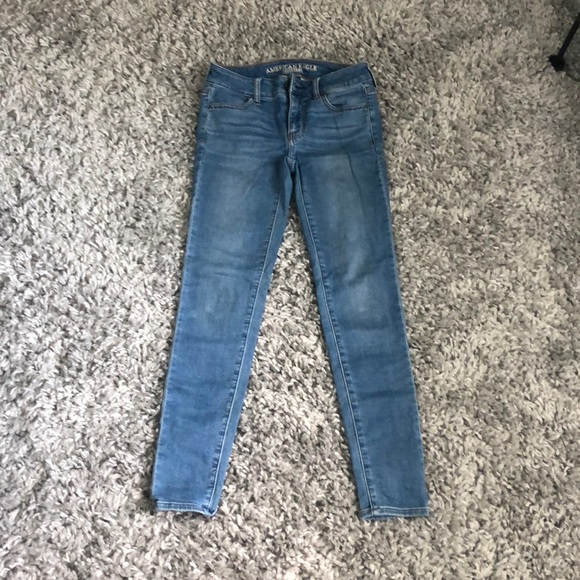 American Eagle Outfitters Denim - AEO super stretch jean jeggings, size 0